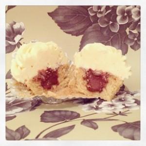 Filled Cupcake
